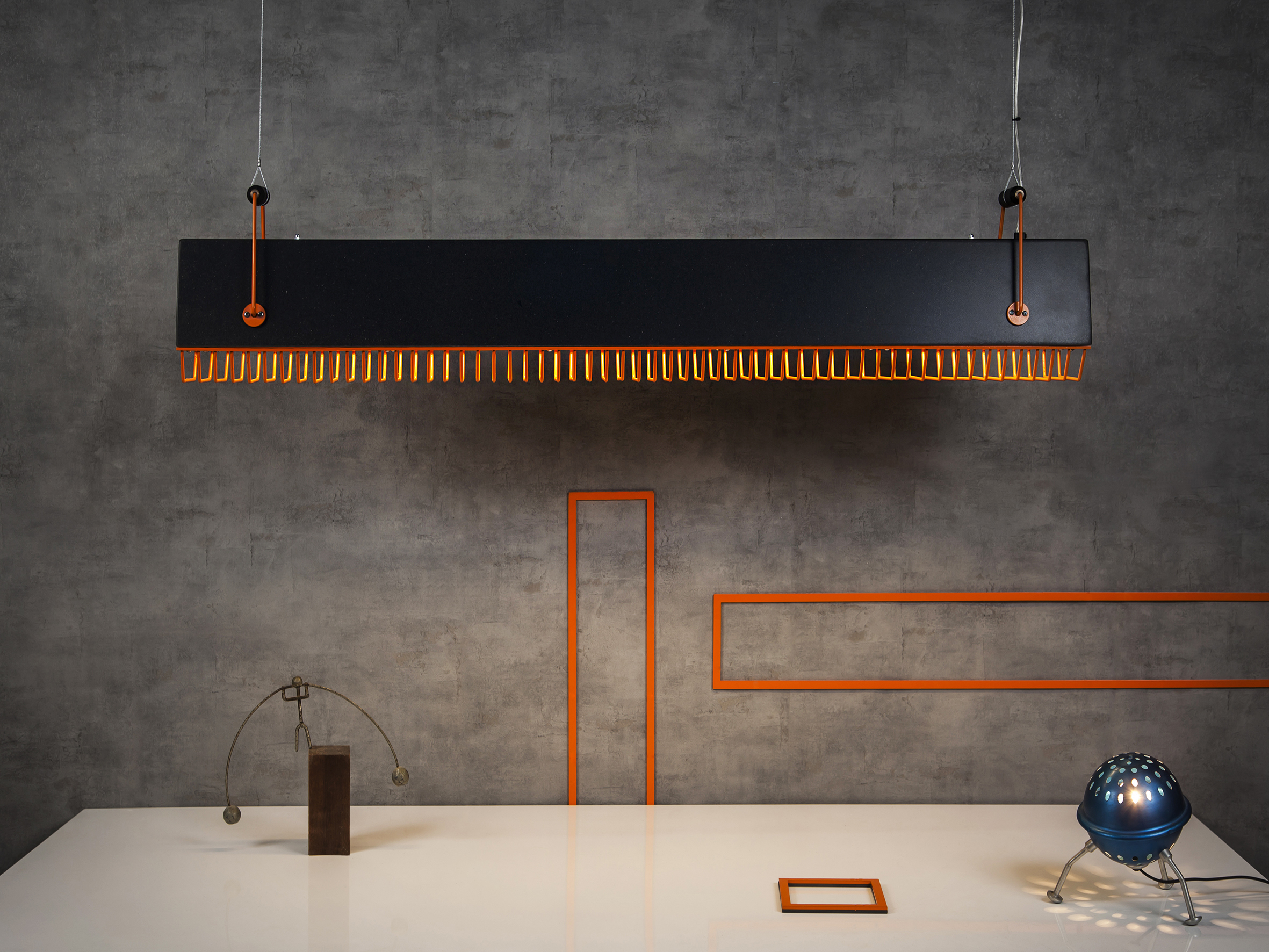 Quattro pendant from D-light collection