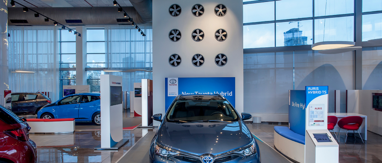 Toyota – Main Show Room Tel Aviv